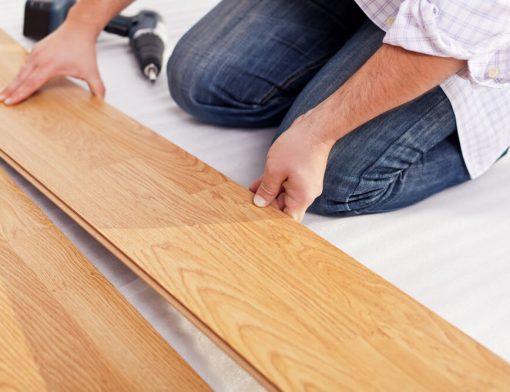 Manutenção do piso laminado