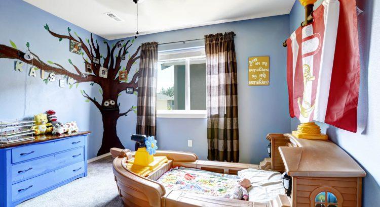 Aprenda como escolher e combinar as cores no quarto das crianças